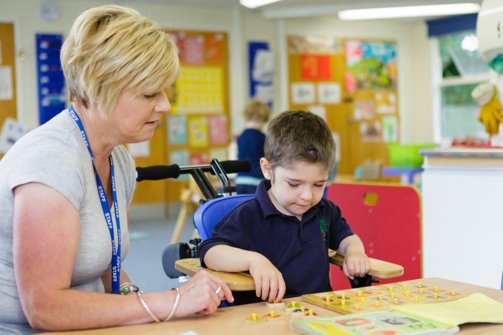 Staff At Yewstock School